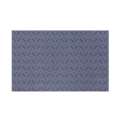 Limpiapiés rubber pium 45x75 cm mosaico azul