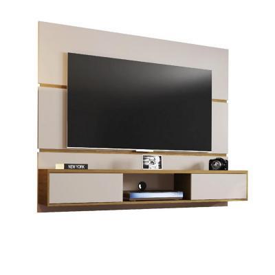 "Rack tv 65"" blanco invierno 136x160x35 cm"