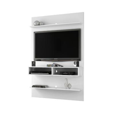 "Mueble panel tv 47"" vega blanco 181x115x30 cm"