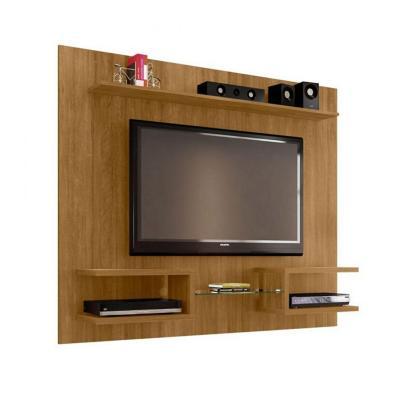 "Rack tv 55"" canela 136x164x30 cm"
