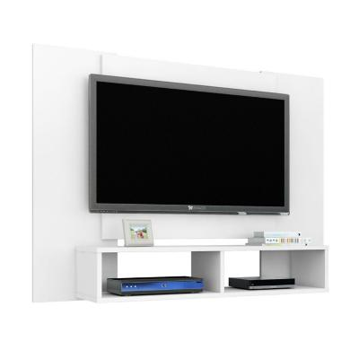 "Rack tv 47"" blanco 90x120x28 cm"
