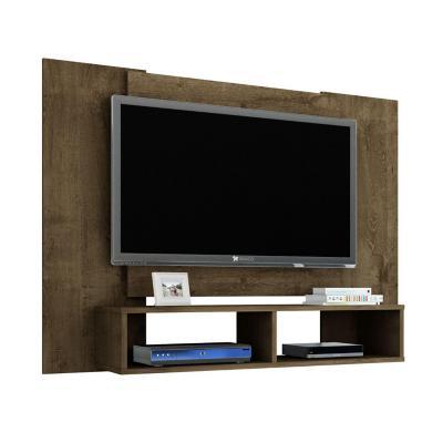 """Rack tv 47"""" rústico 90x120x28 cm"""