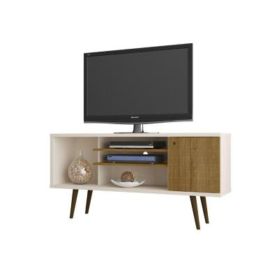 "Rack tv 55"" safira blanco invierno 68x135x36 cm"