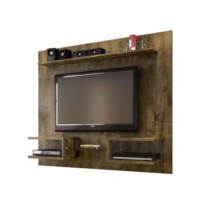 """Rack tv 55"""" rústico 136x164x30 cm"""