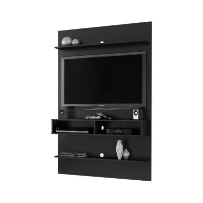 "Mueble panel tv 47"" vega negro 181x115x30 cm"