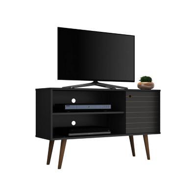 """Rack tv 42"""" jade negro 66x108x36 cm"""