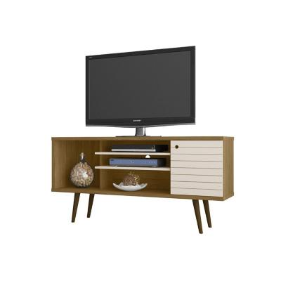 "Rack tv 55"" safira canela 68x135x36 cm"