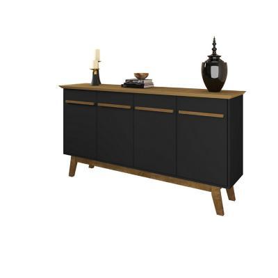 Buffet bar opala negro 84x160x38 cm