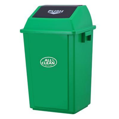 Basurero vaivén 100 litros verde