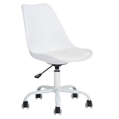 Silla PC Diseño Escritorio 80x52.5x43 cm Blanco