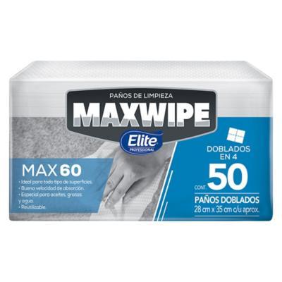 Paño maxwipe Max60 50 hojas