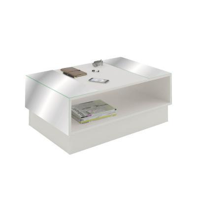 Mesa de centro detroit blanca 59x35,5x90,5 cm