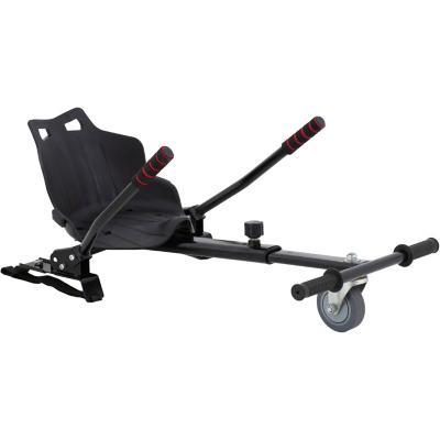 Silla hoverboard negra