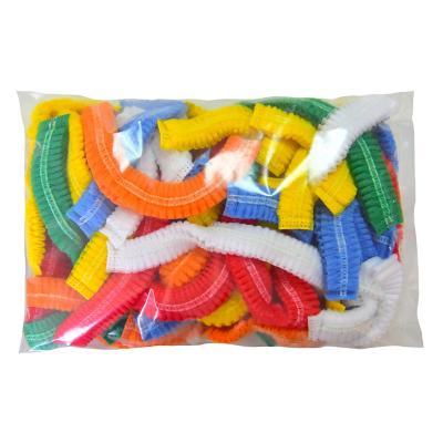 Cofia de colores pack 50 unidades