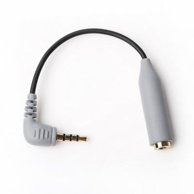 Cable adaptador para microfonos y móviles by-cip2