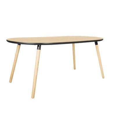 Mesa comedor romb 75 90x180 cm madera natural