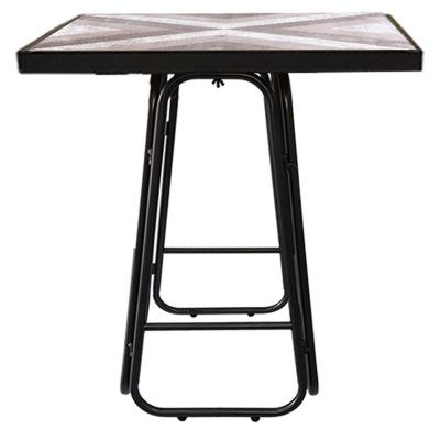 Mesa bar tennessee alta 106 cm café