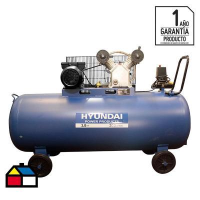 Compresor de aire 3 HP 300 litros