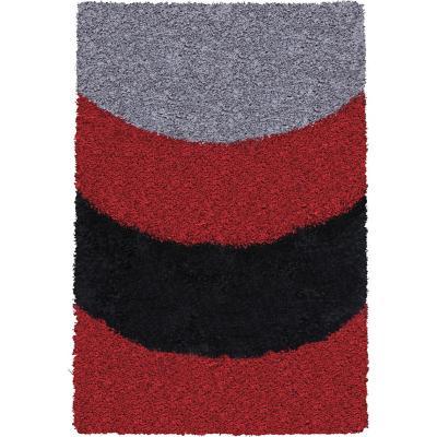Alfombra shaggy arco 150x220 cm multicolor