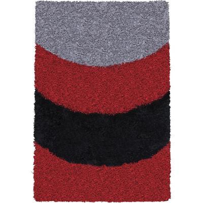 Alfombra shaggy arco 133x180 cm multicolor