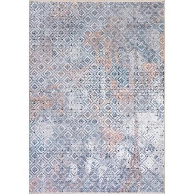 Bajada de cama  Lyon 3d 60x100 cm multicolor