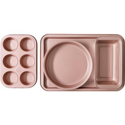 Set mix 4 moldes classic antiad rose gold