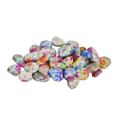 Piedras decorativas multicolor