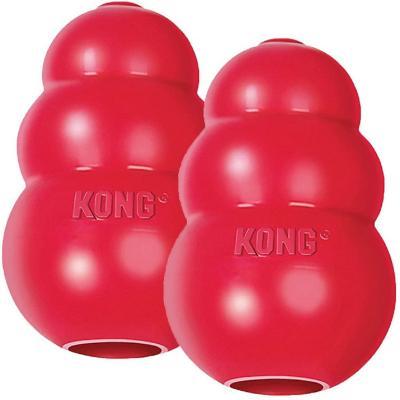 Juguete para perro kong classic xl caucho rojo