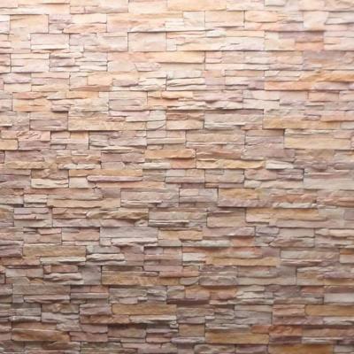 Piedra reconstituida Tungurahua crema oxidada, 0,25 m2