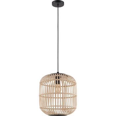 Lámpara colgante acero arce E27 1X28W