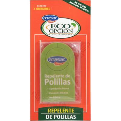 Repelente de Polillas Eco Opcion 2 unidades