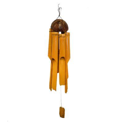 Campana de viento bambu 45 cm
