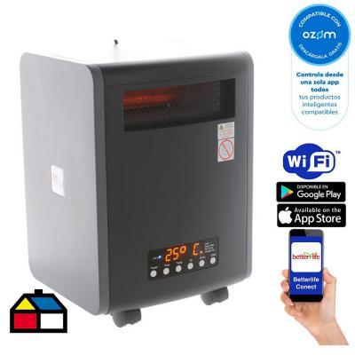 Estufa infrarroja uv wi-fi smarthome 100 m²