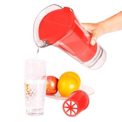 Jarro purificador de agua rojo 2,5 litros