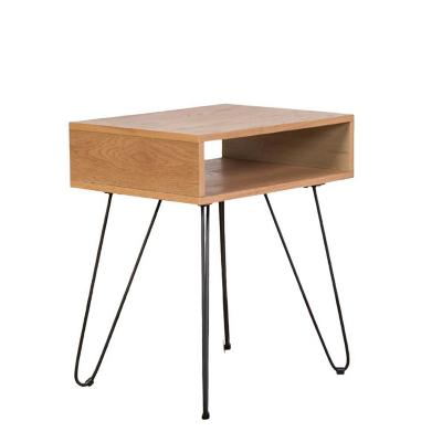 Mesa lateral anders café 50x38x58 cm