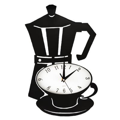 Reloj cocina mural análogo 30x27x4 cm negro