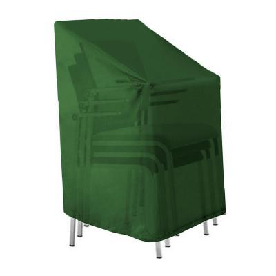 Funda protectora sillas terraza 110x65x65 cm verde