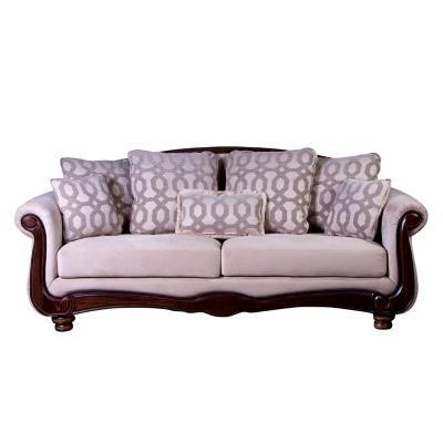 Sofá catania 3c tela soft velvet beige