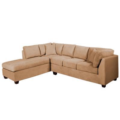 Sofá seccional padua izquierdo velvet beige