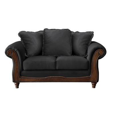 Sofá rimini 2c tela soft velvet gris