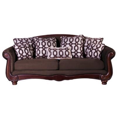 Sofá catania 3c tela soft velvet chocolate