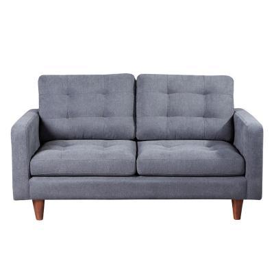 Sofá napoles 2c tela quality gris