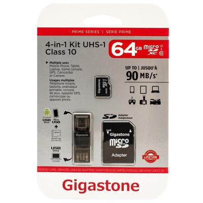 Memoria micro sd 4 en 1 64 gb
