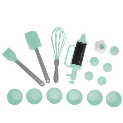 Set cupcake kit 11 pizas