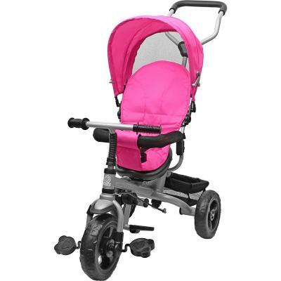 Triciclo stroller giro 360° rosado