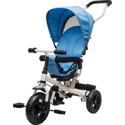 Triciclo stroller giro 360° azul