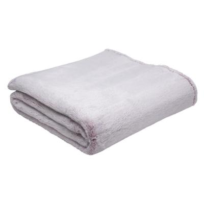 Frazada cozy fleece súper king rosa