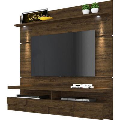 Panel Lana 156x160x33 Cafe Oscuro