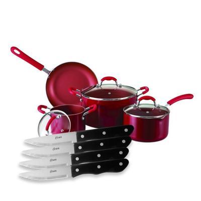 Set batería de cocina + set de cuchillos