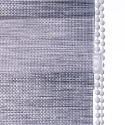 Cortina dúo rústica gris 120x110 cm